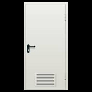Дверь металлическая техническая стандартная одностворчатая
