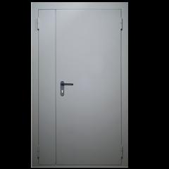 Дверь металлическая техническая стандартная двухстворчатая